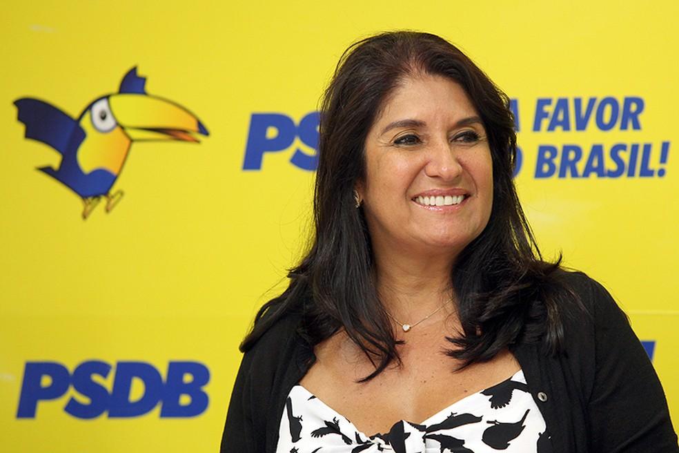 Thelma de Oliveira (PSDB) deixou a prefeitura em dezembro  — Foto: Diretório do PSDB/ Divulgação