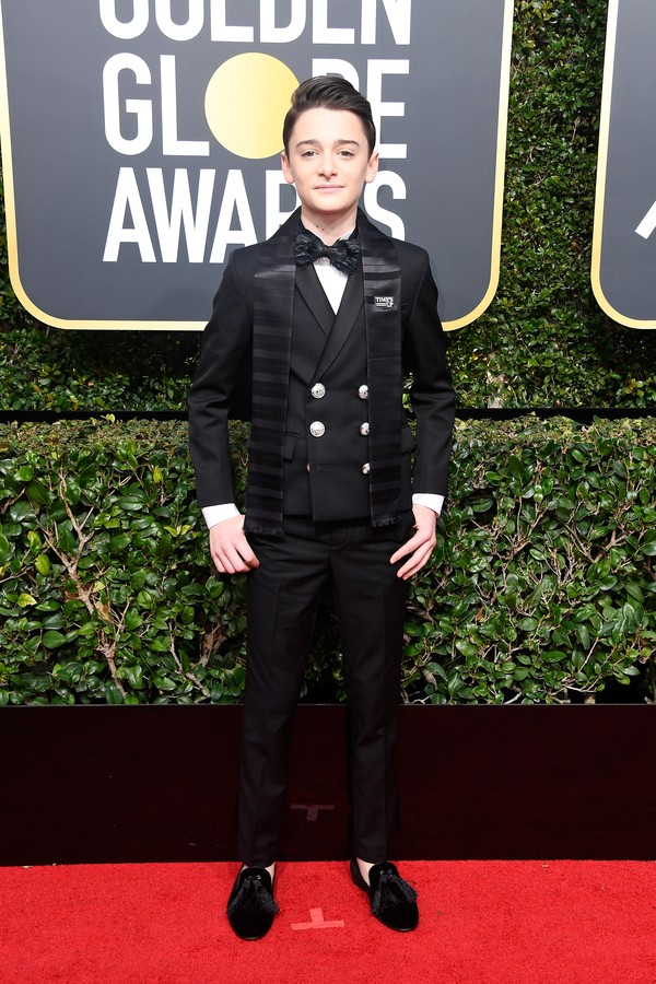 Noah Schnapp, de Balmain (Foto: Getty Images)