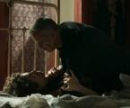 Carol Duarte e Marcello Novaes em cena de 'O Sétimo Guardião' | Reprodução