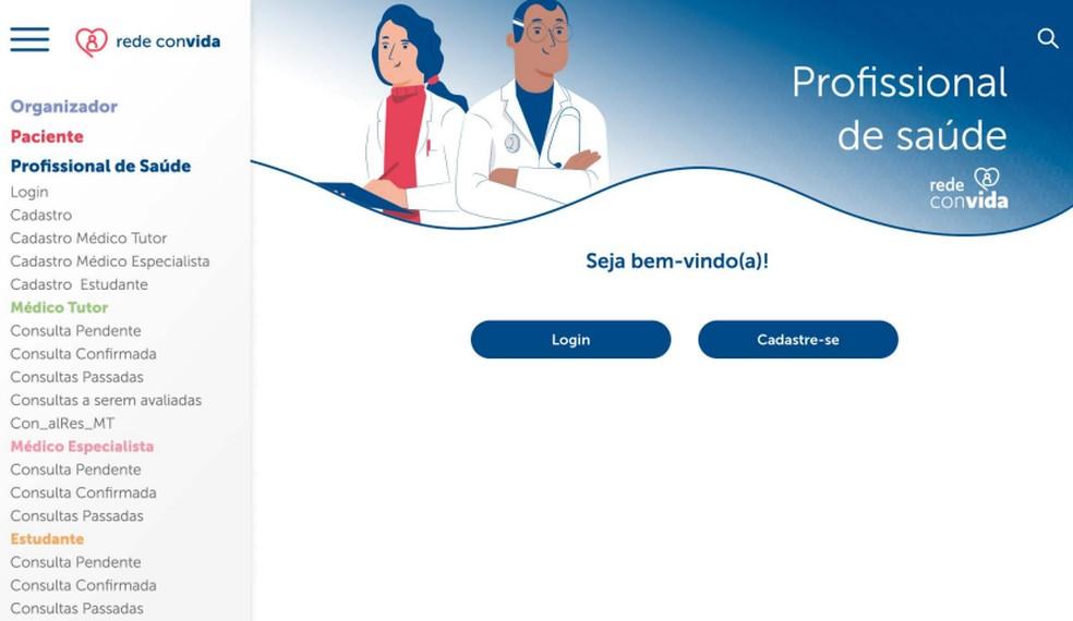 Plataforma Rede Convida conta com 250 voluntários da área da saúde — Foto: Rede Convida/Divulgação