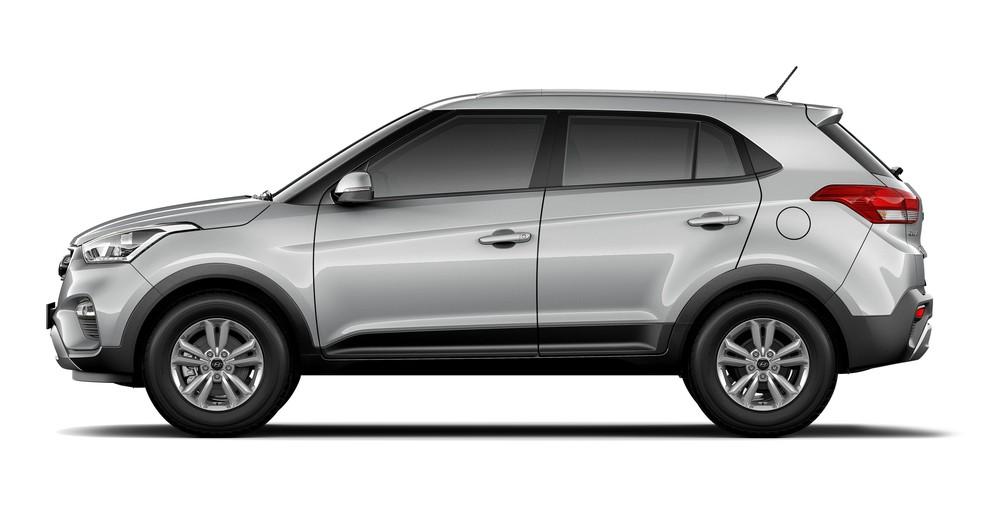 Hyundai Creta brasileiro substitui o indiano na Colômbia — Foto: Divulgação/Hyundai