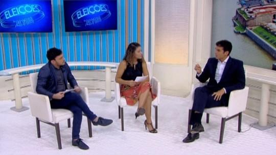 G1 entrevista candidato ao governo do Pará Helder Barbalho. Confira