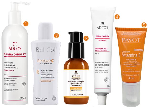 Vitamina C: produtos especializados para a pele (Foto: Divulgação)