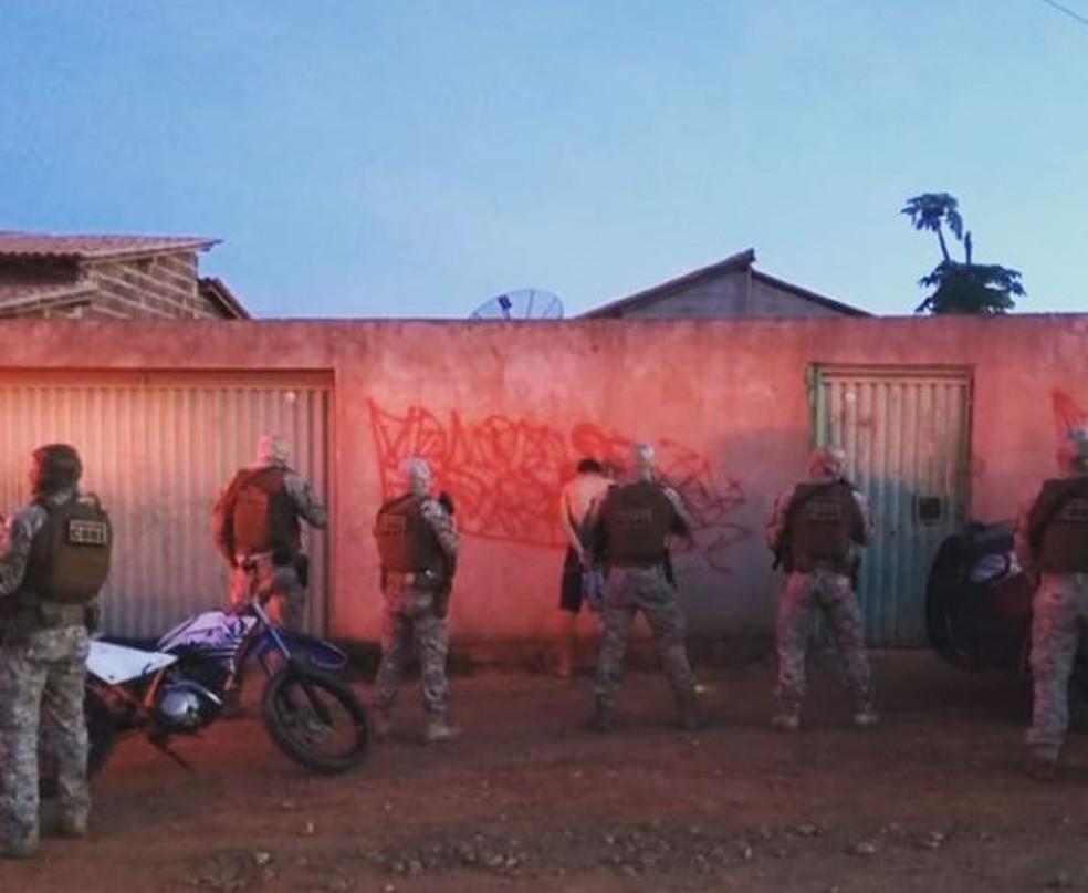 Core da Polícia Civi realiza prisões — Foto: Divulgação/Polícia Civil