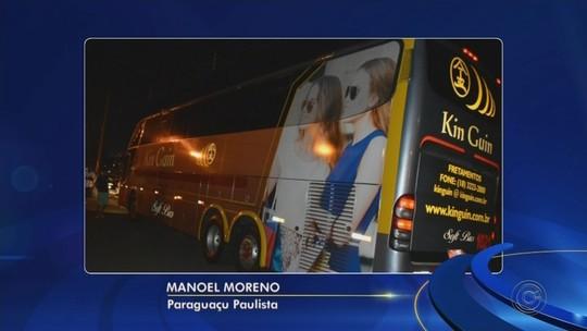 Motorista é baleado durante tentativa de assalto a ônibus em rodovia de Paraguaçu Paulista