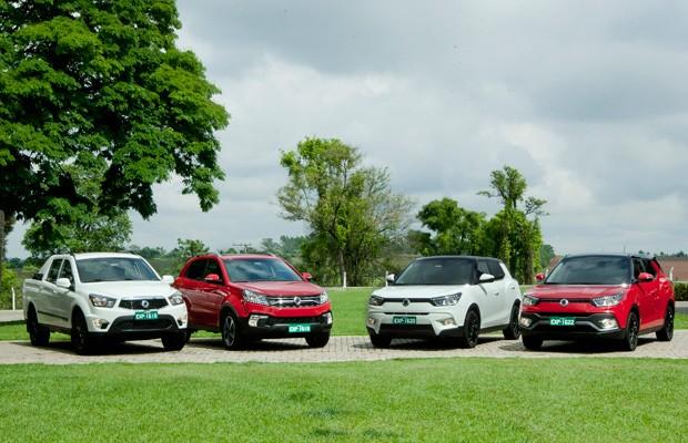SsanYong volta ao Brasil com quatro modelos (Foto: Divulgação)