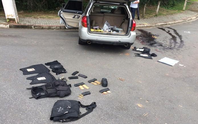 Resultado de imagem para Sobe para  11 criminosos mortos apos tentativa de assalto a bancos em Guararema