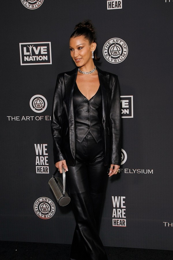 Hollywood, CA  - Bella Hadid attends The Art Of Elysium's 13th Annual Celebration - Heaven at Hollywood Palladium on January 04, 2020 in Hollywood, CA.Pictured: Bella HadidBACKGRID USA 4 JANUARY 2020 BYLINE MUST READ: MediaPunch / BACKGRID (Foto: MediaPunch / BACKGRID)
