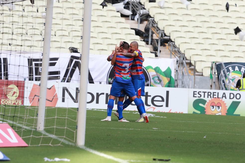 31509e1ad2ab9 ... Fortaleza bate o Ceará e é campeão cearense — Foto: Kid Junior/Diário do