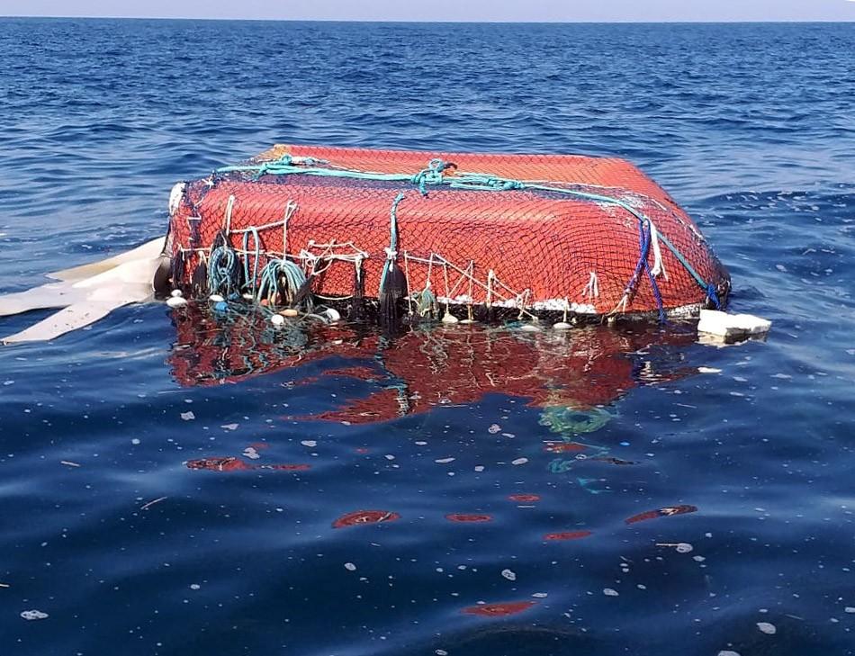 Rede gigante de pesca à deriva vira 'mistério' e gera alerta em SP - Notícias - Plantão Diário