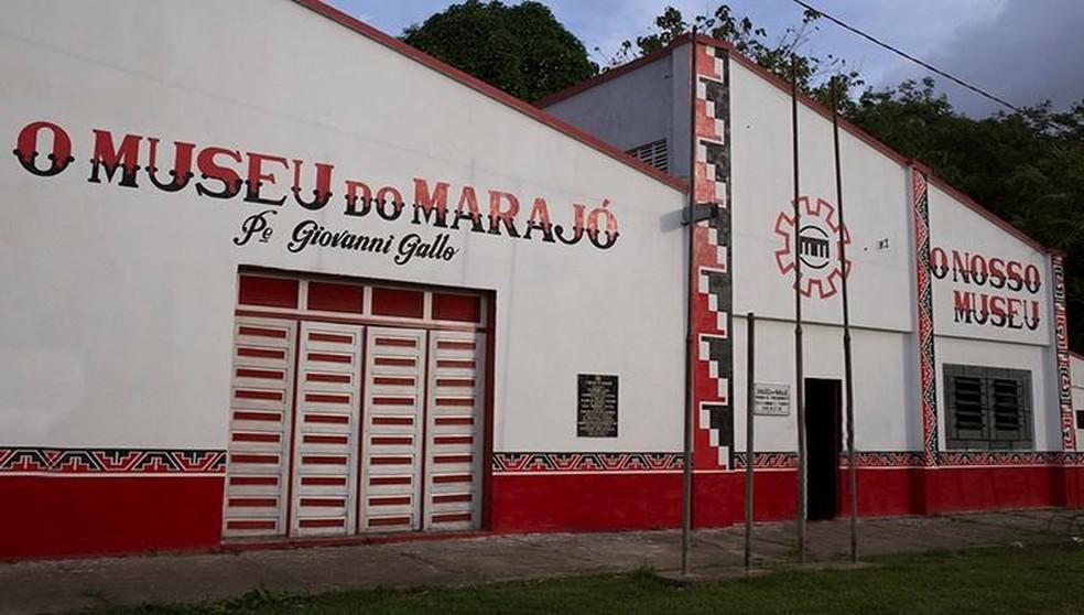 Museu do Marajó — Foto: UFPA/ Facebook