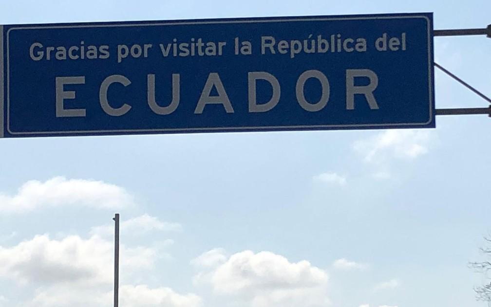 Dupla pensa em voltar ao Equador um dia — Foto: Claudinei Batista/Arquivo pessoal