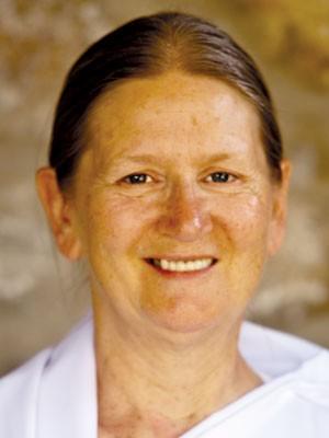 Denise Lawrence, professora da Brahma Kumaris (Foto: Divulgação/Brahma Kumaris)