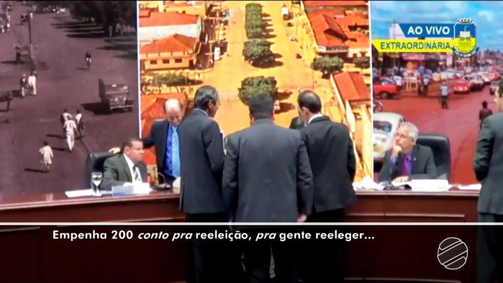 Vereador de Dourados (MS) disse que vai procurar a Justiça para apurar vazamento de vídeo (Foto: Reprodução/TV Morena)
