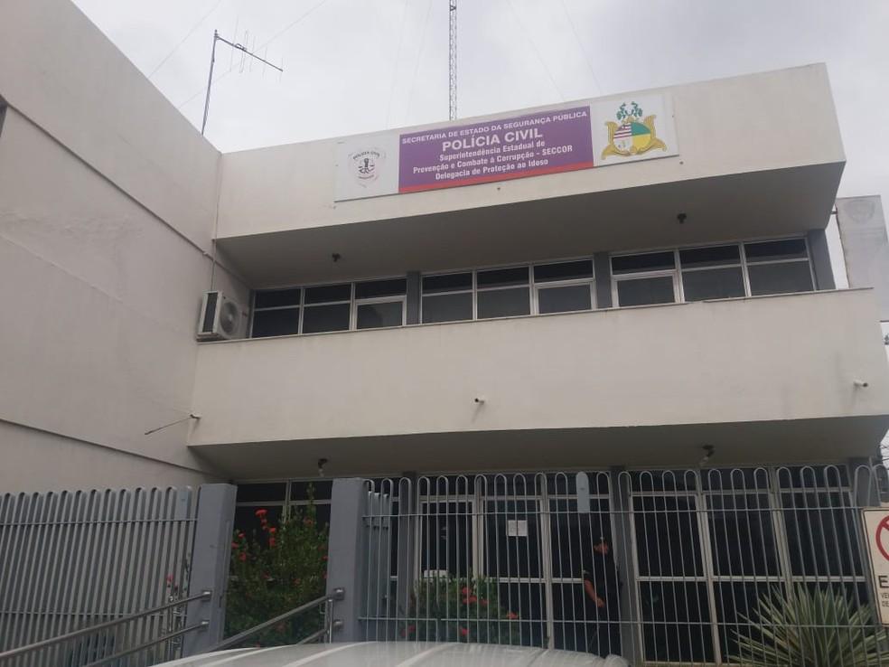 Superintendência Estadual de Prevenção e Combate à Corrupção (Seccor), em São Luís — Foto: Alessandra Rodrigues/Mirante AM