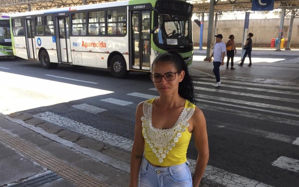Solange Sousa já foi vítima de assédio sexual em ônibus — Foto: Lis Lopes/G1