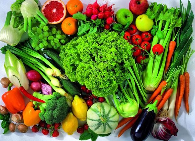Verduras, legumes e frutas são grandes fontes de antioxidantes (Foto: Reprodução/Instagram)