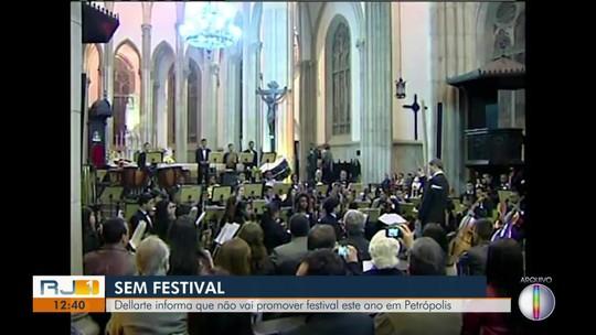 Festival de Inverno da Dell'Arte em Petrópolis, RJ, é cancelado após 18 edições consecutivas