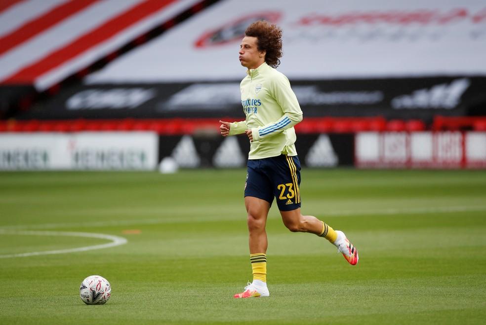 David Luiz ficou duas temporadas no Arsenal — Foto: Reuters