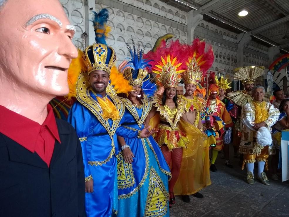 Desfile do Galo da Madrugada tem 80 tipos de fantasia (Foto: Camila Torres/TV Globo)