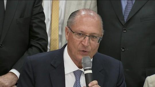 Alckmin é lançado pré-candidato à Presidência pelo PSDB