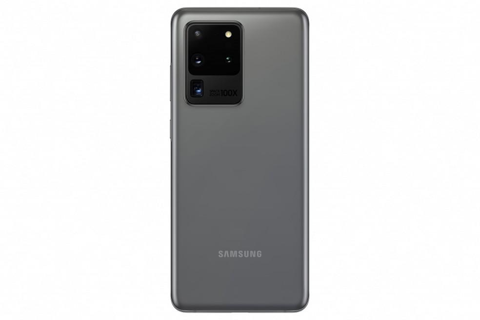 Super câmera do Samsung Galaxy S20 Ultra permite zoom de até 100x. — Foto: Divulgação