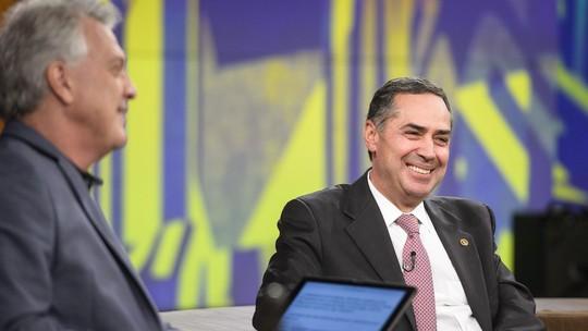 Ministro do STF Luís Barroso analisa a política: 'A poeira foi escancarada e não jogada para debaixo de tapete'