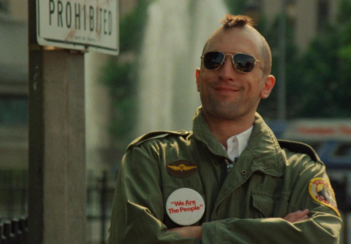 Robert De Niro como Travis Bickle em'Taxi Driver' (Foto: Reprodução)