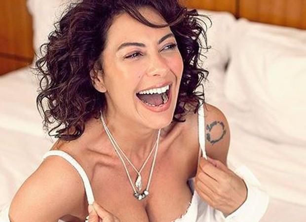 Fabíula Nascimento sensualiza em foto  (Foto: Guilherme Lima)