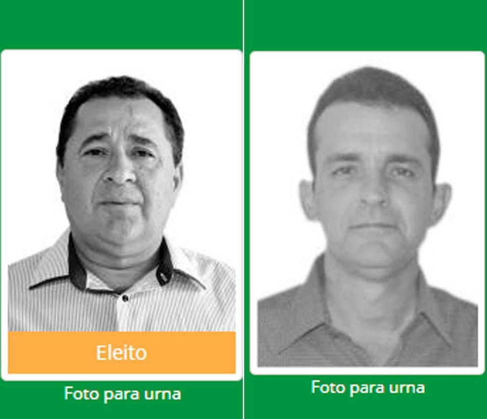 Perfeito de Barra do Mendes (à esquerda) e de Ibipeba tiveram mandatos cassados (Foto: Reprodução/DivulgaCand)