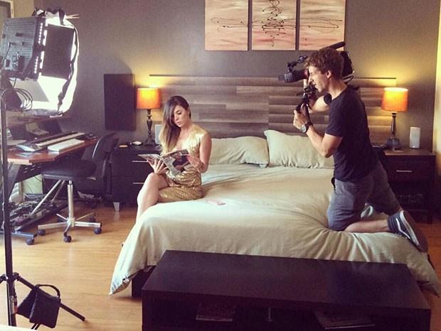 Amanda Gaya em cena (Foto: Arquivo pessoal)