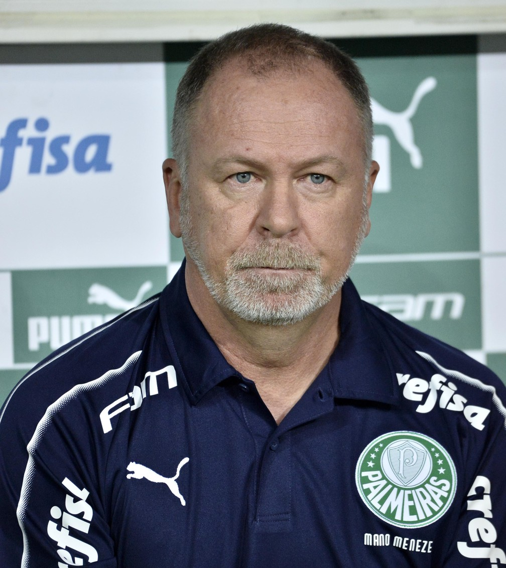 Mano Menezes, treinador do Palmeiras — Foto: Marcos Ribolli