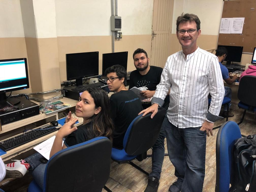 O engenheiro de software Carlos Rapelli nasceu em Presidente Venceslau (SP) — Foto: Carlos Rapelli/Arquivo pessoal