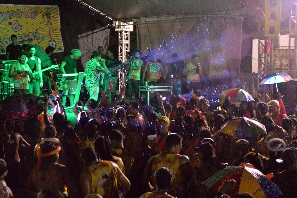 Atrações musicais fazem parte da programação em Mazagão (Foto: Gabriel Penha/Arquivo Pessoal)