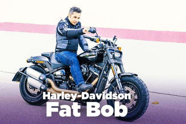 Harley-Davidson Fat Bob (Foto: Marcos Camargo / Autoesporte)
