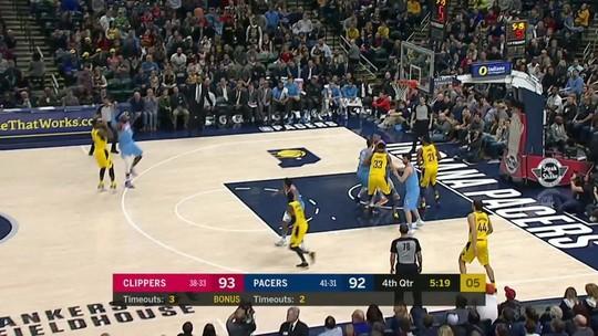 Melhores momentos: LA Clippers 104 x 109 Indiana Pacers pela NBA