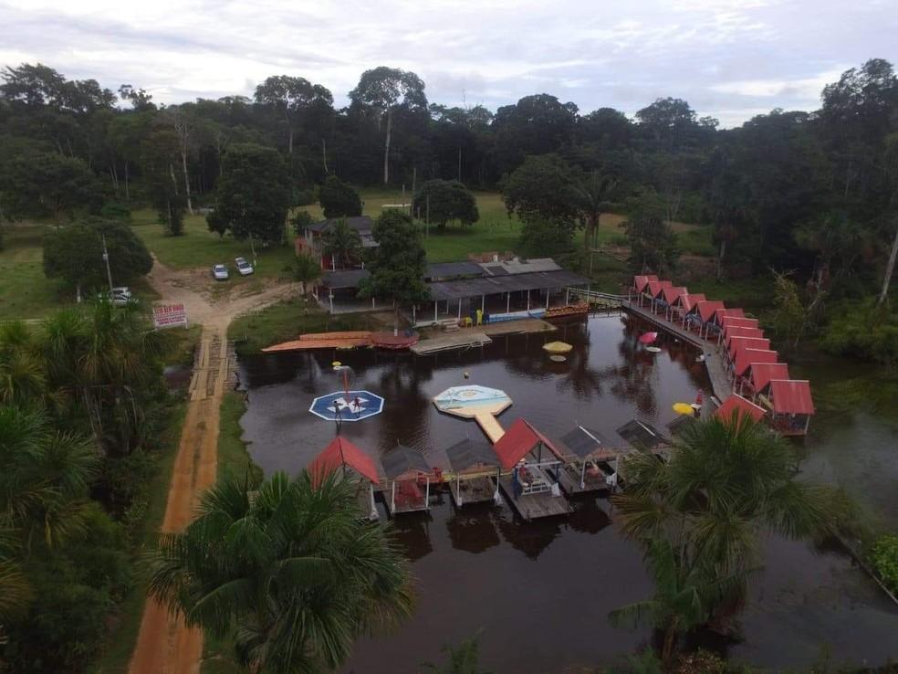 Balneário Água Gelada — Foto: Reprodução/Facebook
