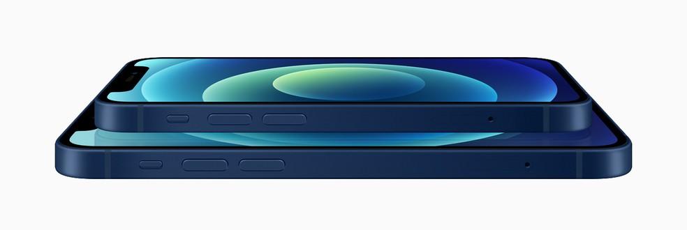iPhone 12 Mini é a versão com a menor tela da geração — Foto: Divulgação/Apple