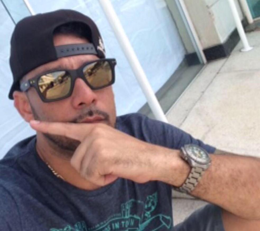 Márcio Oliveira é de Cubatão, SP, e foi preso com o grupo no Marrocos (Foto: Arquivo Pessoal)