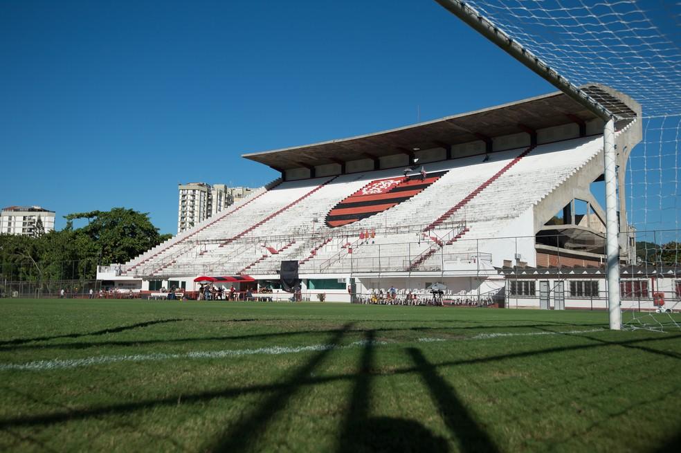 Gávea, sede social do Flamengo — Foto: Alexandre Vidal/Flamengo