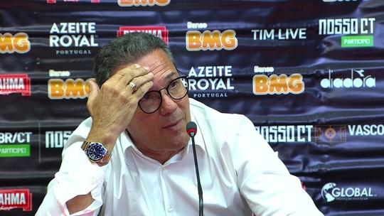 """Luxemburgo nega """"recomeço"""" no Vasco e cita carreira vitoriosa: """"Acho um pouco covarde"""""""