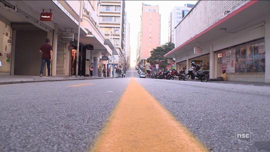 Caminhoneiros entram no 8º dia de protesto em rodovias de SC