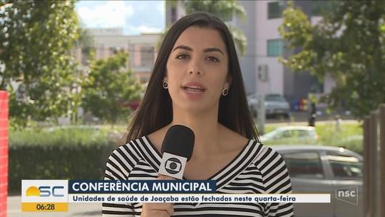 Unidades de saúde de Joaçaba ficam fechadas nesta quarta-feira