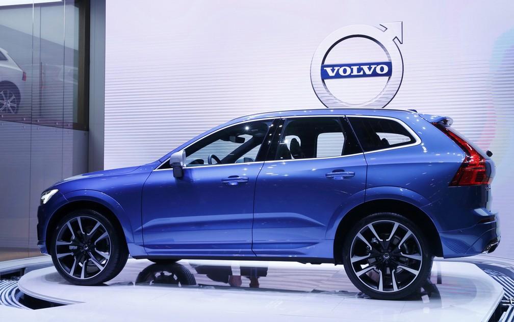 Nova geração do Volvo XC60 (Foto: Denis Balibouse/Reuters)