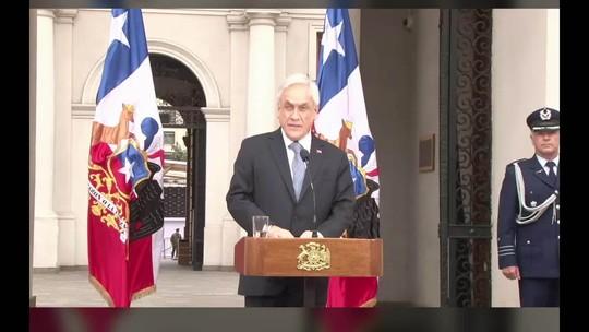 Crítica a Michelle Bachelet: presidente do Chile diz que não concorda com Bolsonaro