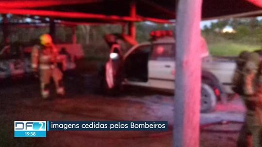 Polícia Federal investiga fogo em viaturas do Ibama