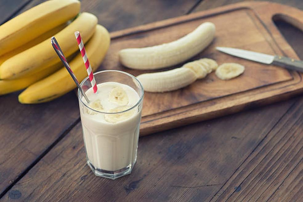 Essa receita de vitamina de banana não leva leite — Foto: iStock