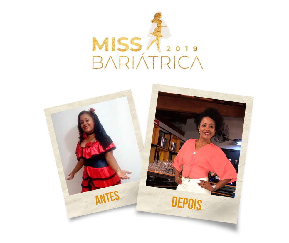 Eliene Oliveira, 41 anos, candidata do Miss Bariátrica  — Foto: Divulgação