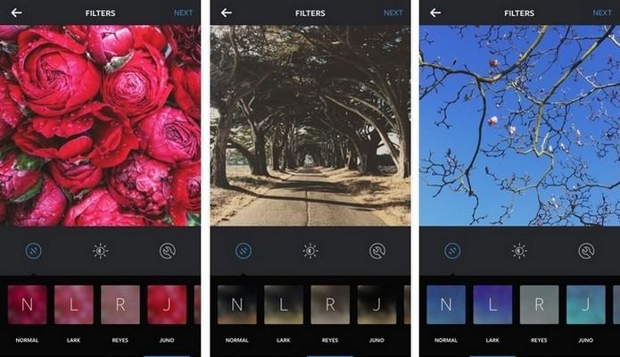 Atualização do Instagram tem três novos filtros e permite emojis em hashtag (Foto: Divulgação/Instagram)