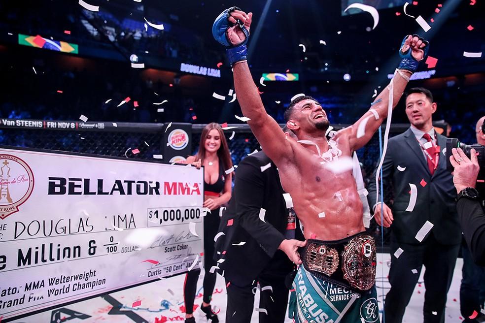 Resultado de imagem para Douglas Lima recupera cinturão do Bellator